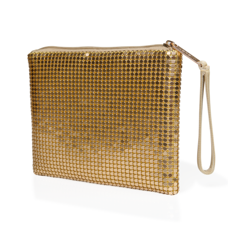 Makeup Purse Gold