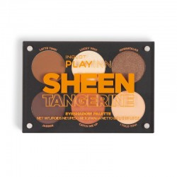 INGLOT PlayInn SHEEN TANGERINE Eye Shadow Palette icon