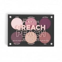 INGLOT PlayInn CREACH PEACH Eye Shadow Palette icon